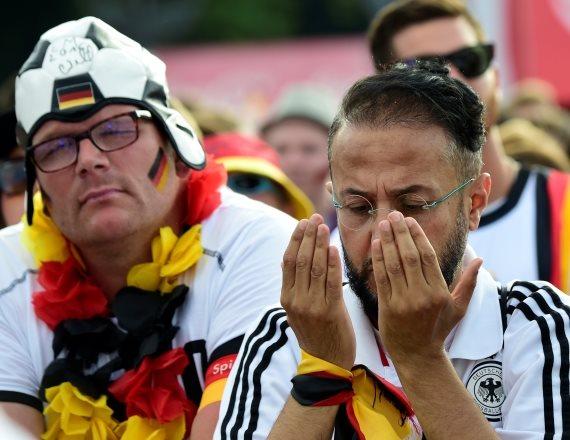 אוהדי גרמניה מאוכזבים