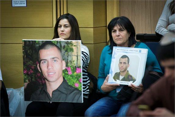 משפחתו של אורון שאול בדיון בכנסת