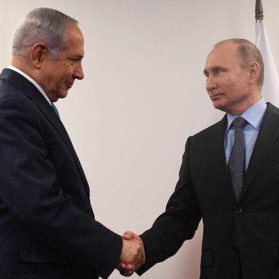 ראש הממשלה בנימין ונתניהו ונשיא רוסיה ולדימיר פוטין
