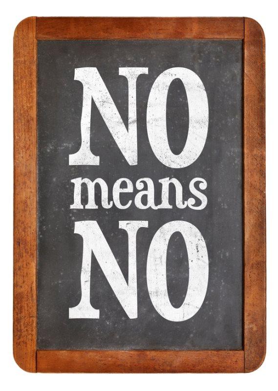שלט: לא זה לא