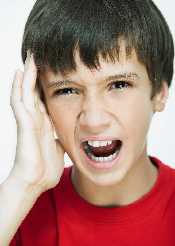 ילד כאב ראש