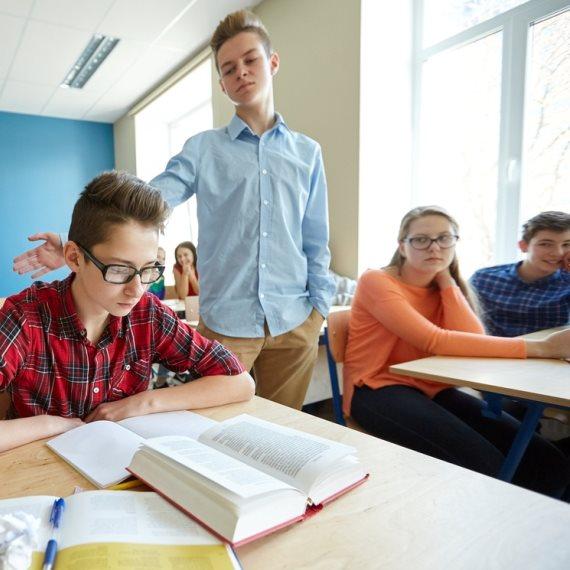 אלימות בבית הספר - למצולמים אין קשר לכתבה