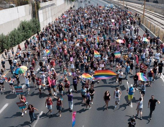 """מחאת קהילת הלהט""""ב"""