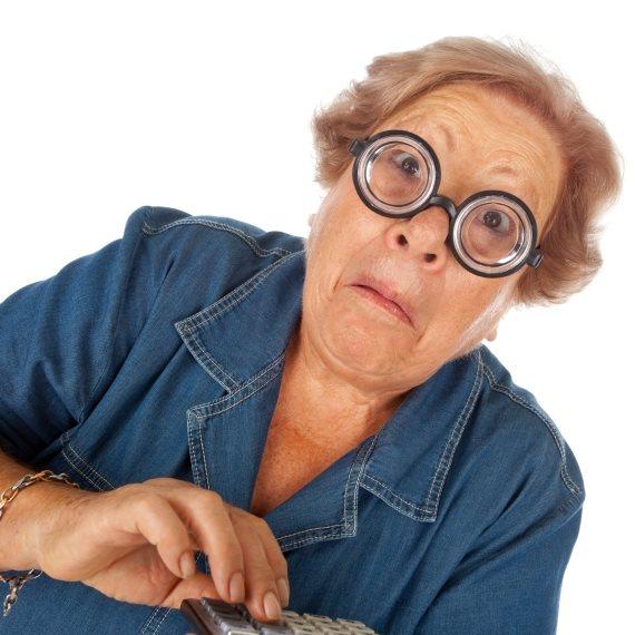 סבתא מצחיקה
