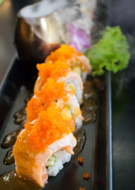 מה אפשר לאכול במקום רול סושי?