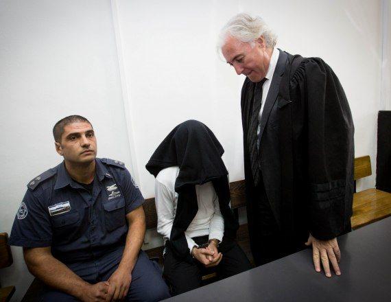 ציון אמיר ובן דרי בבית המשפט