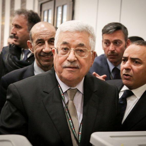 ראש הרשות הפלסטינית מחמוד עבאס