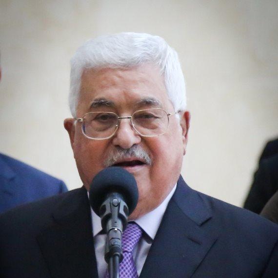 """יו""""ר הרשות הפלסטינית מחמוד עבאס"""