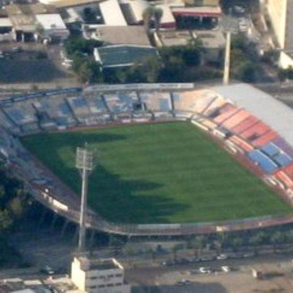 אצטדיון בלומפילד לפני שיפוצו