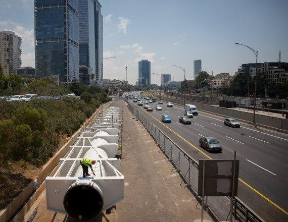 העבודות על גשר יהודית