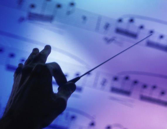 על התזמורת