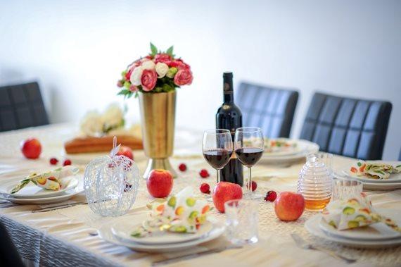 שולחן חג של ראש השנה