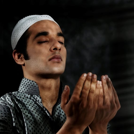 מוסלמי מתפלל (תמונת אילוסטרציה)