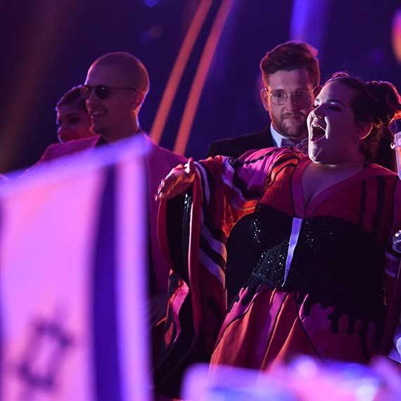 זוכת האירוויזיון נטע ברזילי