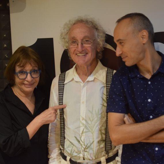 אסף אמדורסקי, ישראל גוריון ורבקה מיכאלי