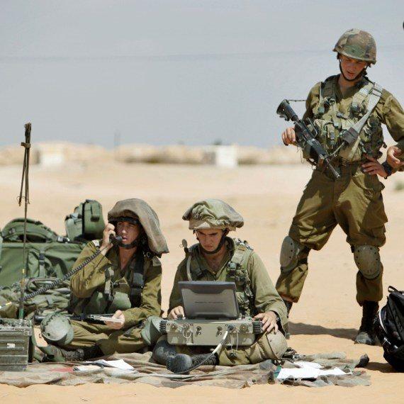 חיילים באימון, אילוסטרציה