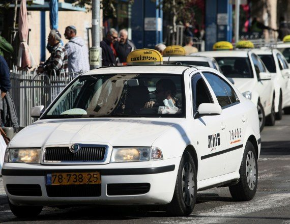 מונית, אילוסטרציה