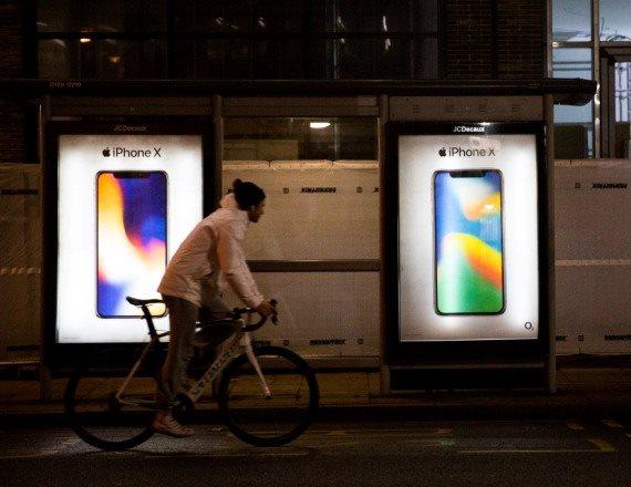 שלטי פרסומת לאייפון