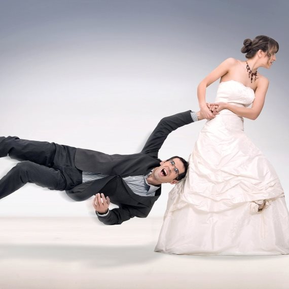 הרון מותח זוג שמתחתן