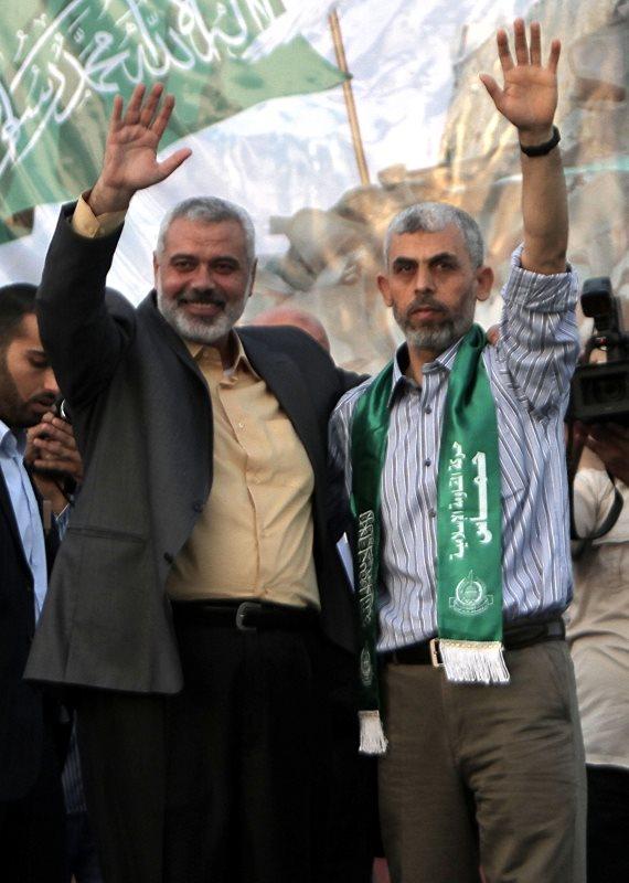 מנהיגי חמאס בעזה