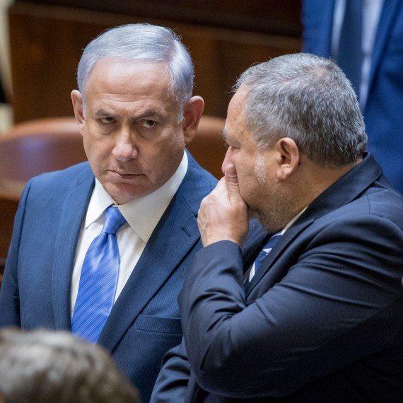 שר הביטחון אבגידור ליברמן וראש הממשלה בנימין נתניהו