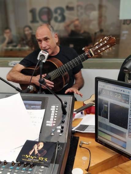 דיויד ברוזה באולפן