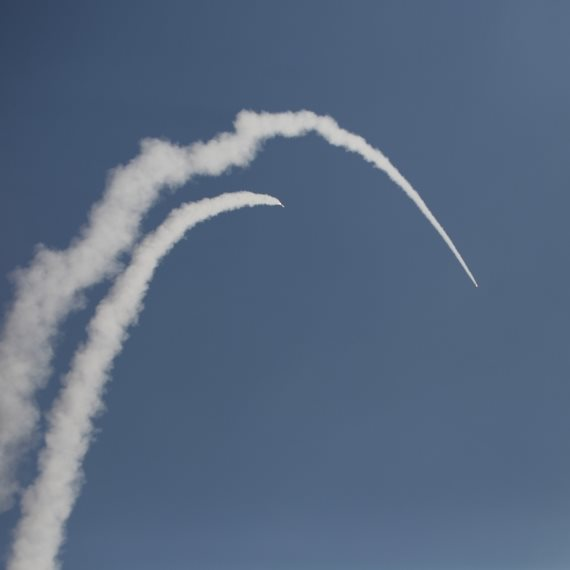 טיל פטריוט בעוטף עזה
