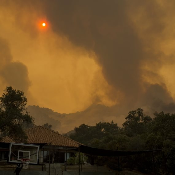 שריפות ענק בקליפורניה