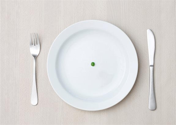 לצמצם את הארוחה?