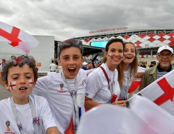 אוהדי נבחרת אנגליה