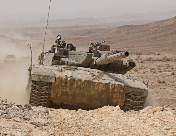 טנק מרכבה (אילוסטרציה)