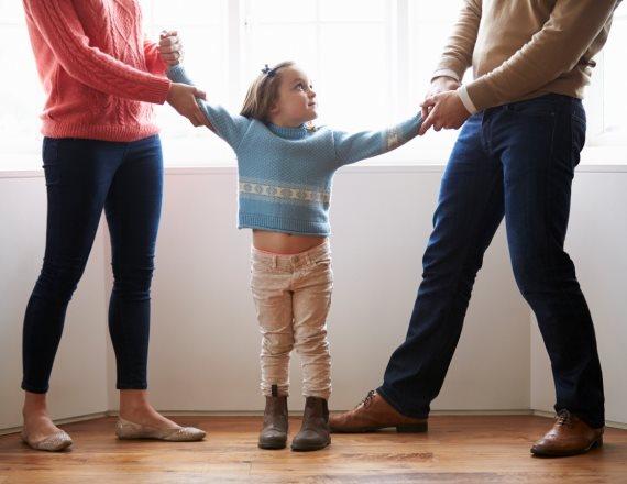 ילדים להורים מתגרשים