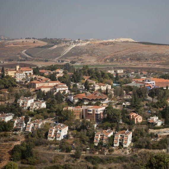 יישוב על קו הגבול עם לבנון