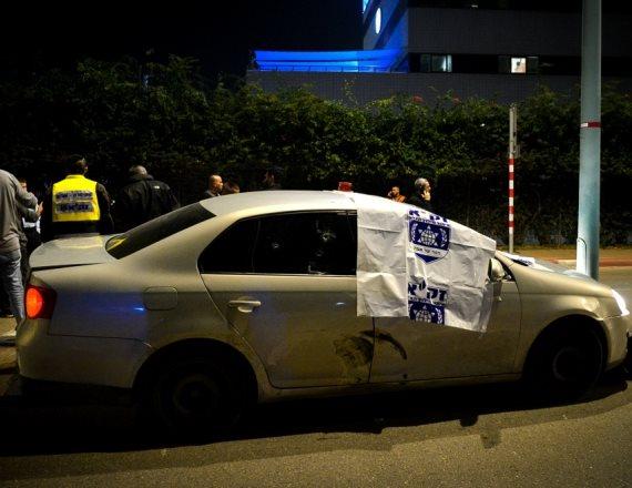 זירת הרצח בלוד