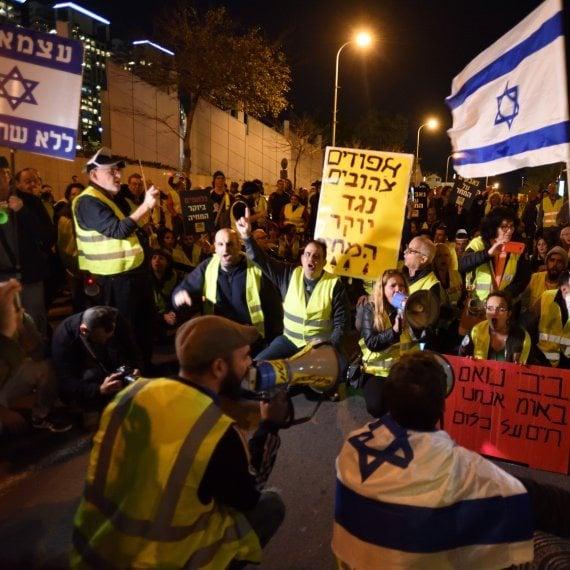 מחאת האפודים הצהובים בישראל