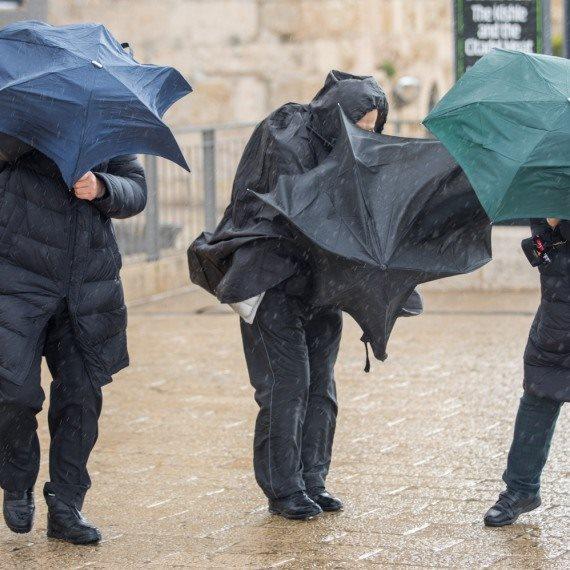 סופות וגשמים בישראל