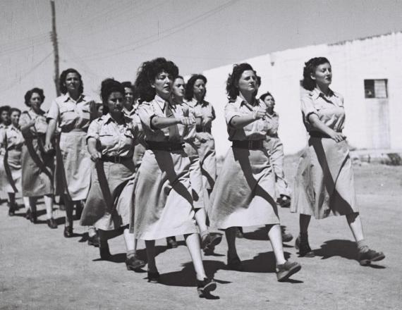 חיילות ב-1948 (אילוסטרציה)