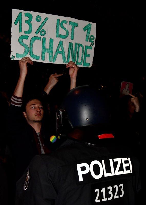 מחאה בגרמניה, ארכיון
