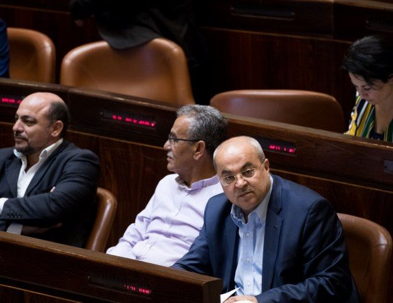 חברי הכנסת אחמד טיבי, חנין זועבי וג'מאל זחאלקה