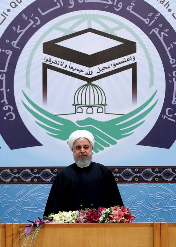 נשיא איראן חסן רוחאני