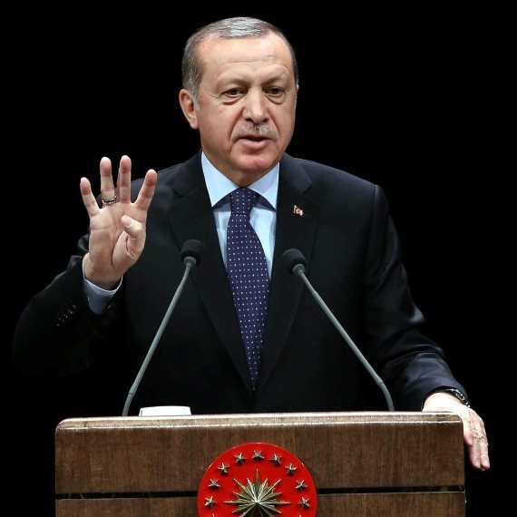 נשיא טורקיה רג'פ טאיפ ארדואן