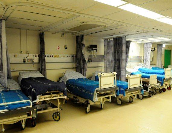 מיטות בית חולים - אילוסטרציה