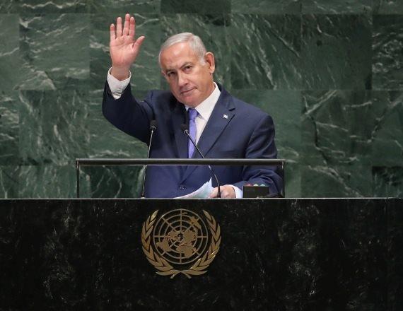 ראש הממשלה בנימין נתניהו נואם באומות המאוחדות