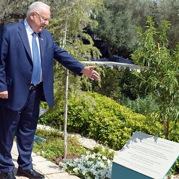 נשיא המדינה ראובן (רובי) ריבלין בבית הנשיא בירושלים