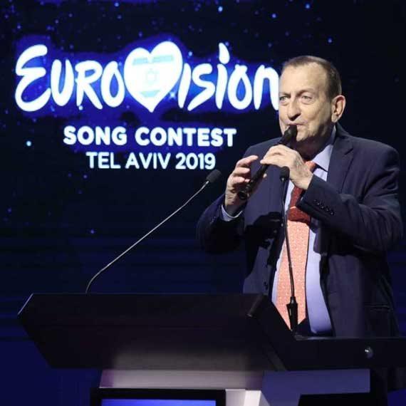 רון חולדאי  מכריז על קיום אירוויזיון 2019 בתל אביב