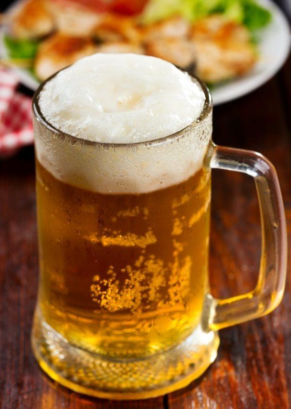 """""""הבירה מונעת חלק מהאכילה"""""""