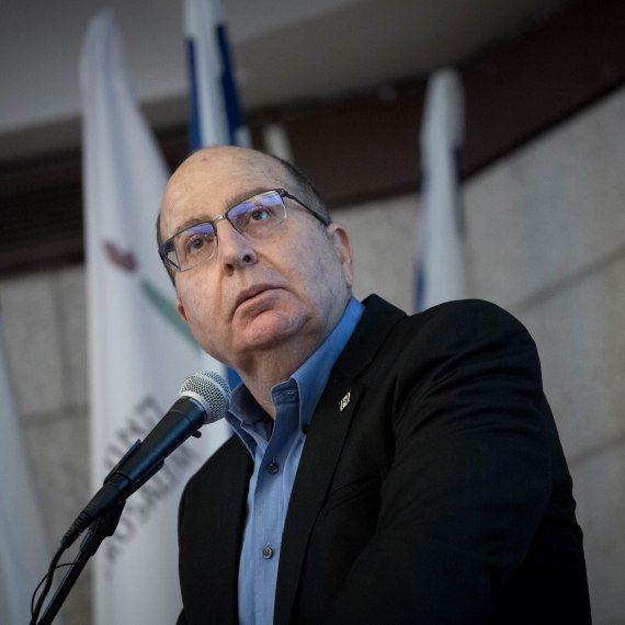 """ח""""כ משה בוגי יעלון, כחול לבן, הרמטכ""""ל ושר הביטחון לשעבר"""