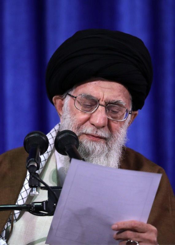 מנהיג איראן חמינאי