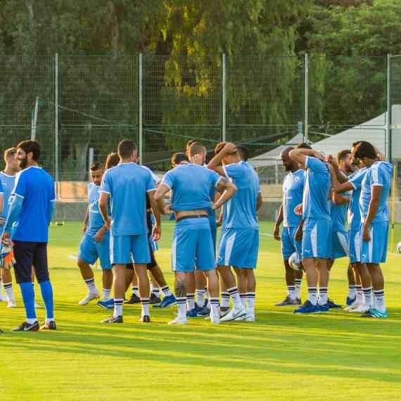 שחקני נבחרת ישראל בכדורגל