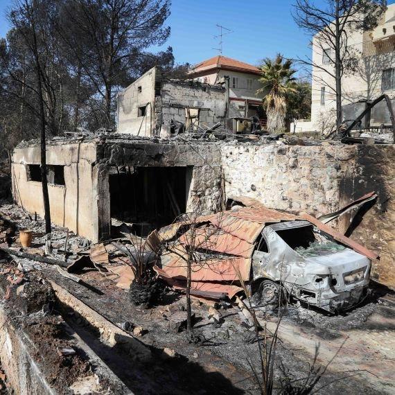 בית שנשרף (צילום ארכיון)